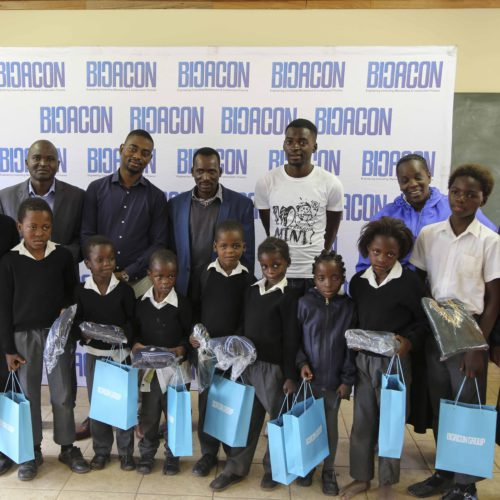 Bicacon Group CSI Drive In Thulamela, Venda (Bringing Warmth To Learners)
